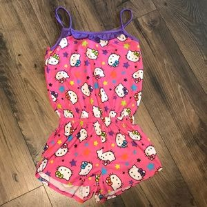 NWOT Girls Hello Kitty romper
